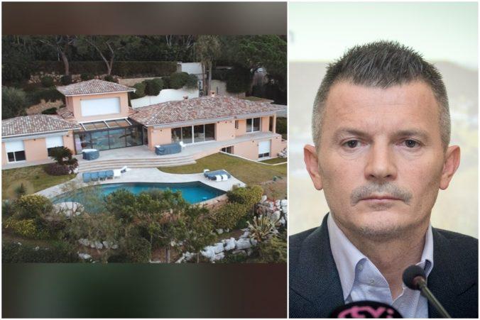 Vila Počiatka v Cannes má deväť izieb. Mimovládka zverejnila, za koľko miliónov ju exminister kúpil (video)