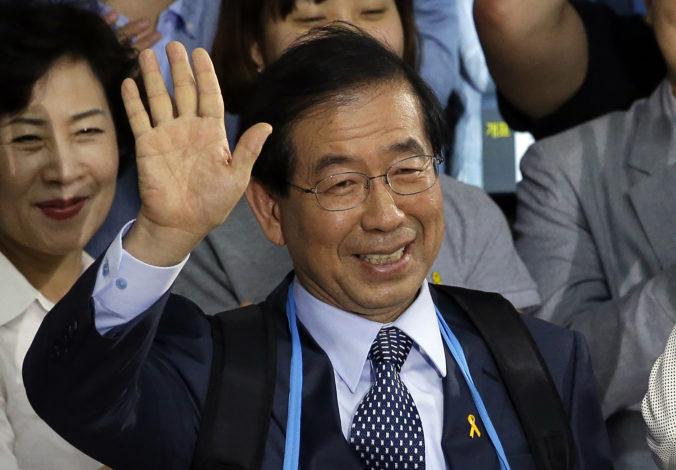 Nezvestného starostu Soulu našli mŕtveho, bol podozrivý zo sexuálneho obťažovania