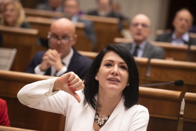 Ženy nie sú schránky na rodenie detí, vyhlásila poslankyňa Cigániková k téme interrupcií