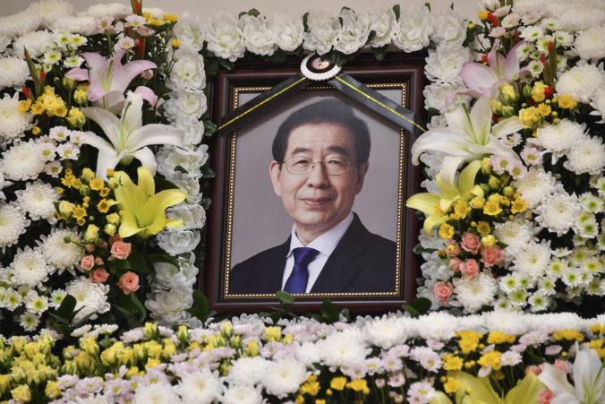 Mŕtvy starosta Soulu zanechal list na rozlúčku, písal o ospravedlnení a aj sa poďakoval