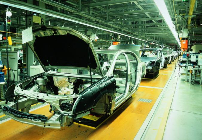 Medziročný pokles priemyslu na Slovensku bol najhorší v celej Európskej únii