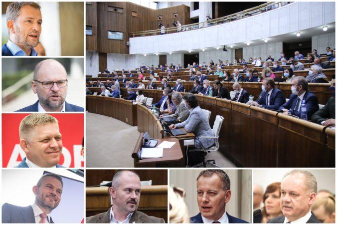 Matovič by vyhral voľby, Pellegrini prekonal Fica o šesť percent a kiskovci by sa do parlamentu nedostali