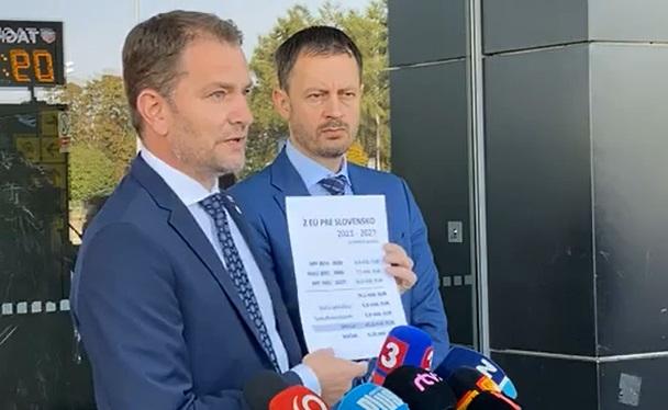 Koľko miliárd eur bude mať Slovensko k dispozícii z Európskej únie?