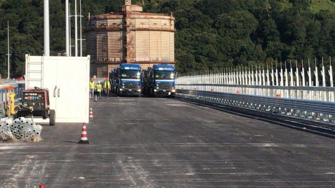 Nový janovský most otvoria v auguste, momentálne ho podrobujú testom stability