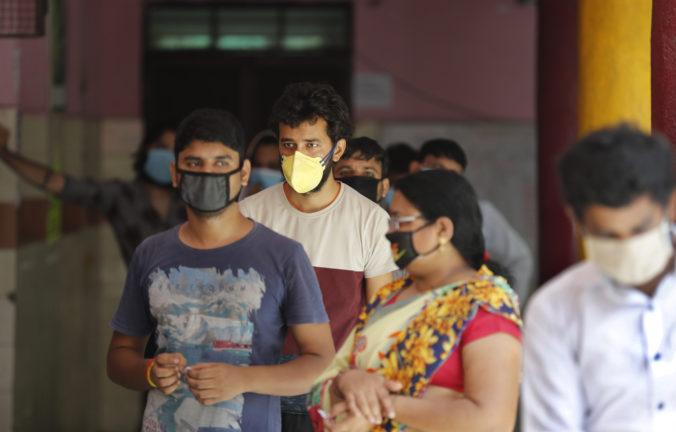 Počet nakazených je v indickej metropole Dillí oveľa viac, testy odhalili protilátky u takmer každého štvrtého obyvateľa