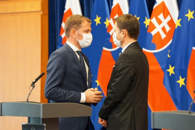 Matovič vidí svojho nástupcu v Hegerovi, ten si nevie OĽaNO predstaviť bez premiéra