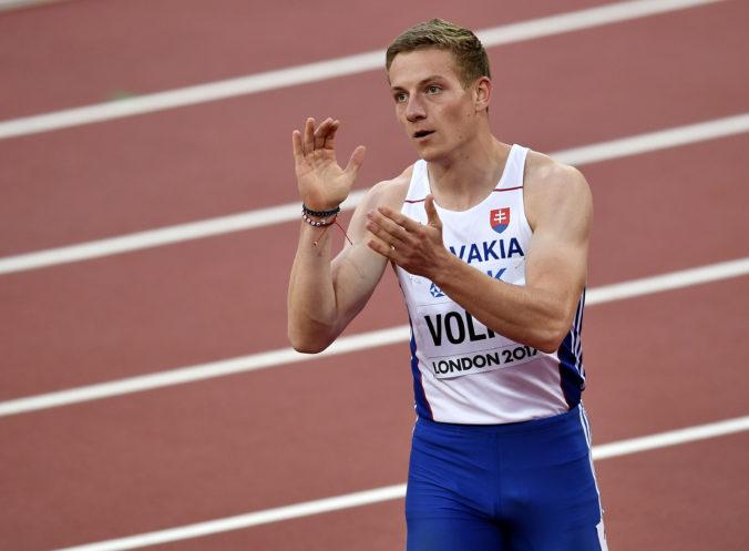 Slovenské šprintérske eso Ján Volko sa po vynútenej pauze pustí do ľahšieho tréningu
