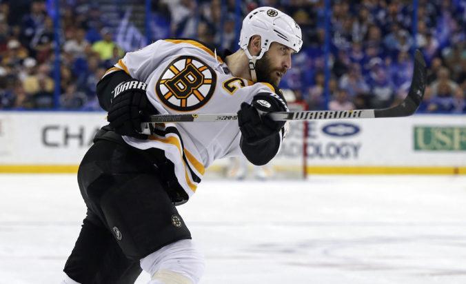 Chára pre test na koronavírus chýbal na tréningu Bostonu, Pastrňák sa vrátil na ľad