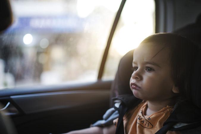Polícia upozorňuje, aby ľudia počas horúčav nenechávali v aute deti a zvieratá bez dozoru