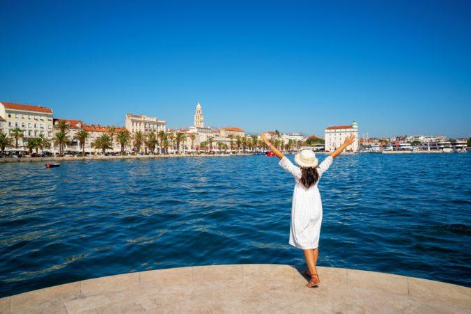Počet turistov v Chorvátsku stúpol, mohol by zmierniť výpadky príjmov z cestovného ruchu