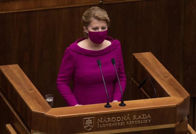 Poslanci schválili skoro všetky novely zákonov v skrátenom konaní, Čaputová vetovala tri