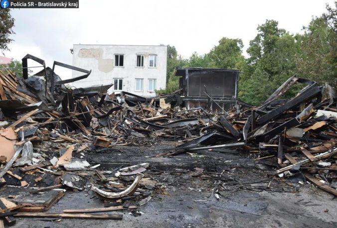 Polícia objasňuje príčiny požiaru opustenej budovy na Rožňavskej ulici v Bratislave