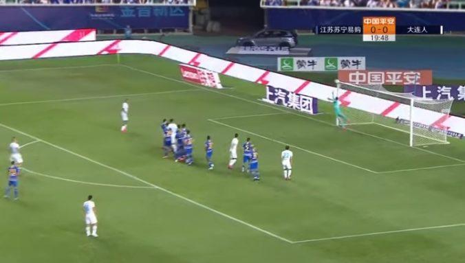 Hamšíkovi chýbali centrimetre na prvý gól v sezóne, Ta-lien Pro stále čaká na víťazstvo (video)