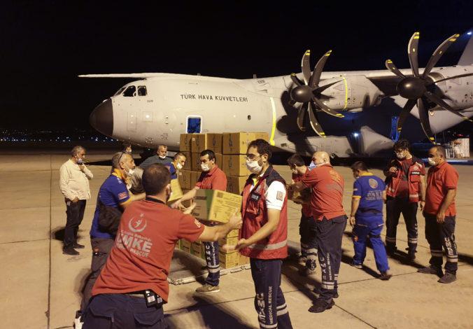 Turecko ponúklo pomoc Libanonu, pomôže mu s opravou zničeného prístavu v Bejrúte
