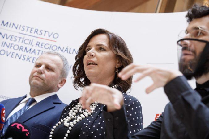 Neziskovky dostanú viac ako milión eur, Remišová ich chce podporiť za prácu počas koronakrízy