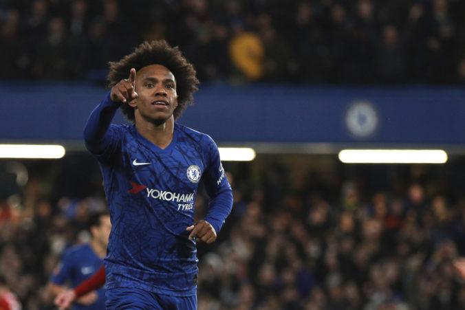 Brazílčan Willian po siedmich rokoch opustil Chelsea a zamieril k mestskému rivalovi