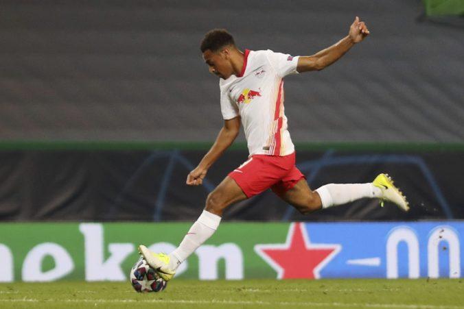 Nie je prvá voľba a už dupľom nestrieľa góly, no aj tak rozhodol o postupe Lipska do semifinále Ligy majstrov (video)