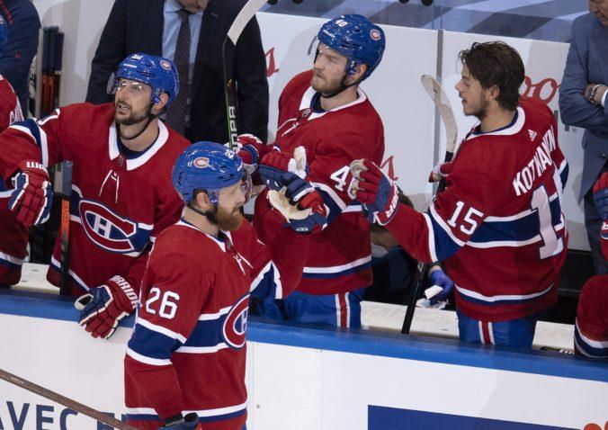Play-off NHL: Montreal deklasoval Flyers a Tatar prvou hviezdou zápasu. Triumf venovali chorému trénerovi Julienovi (video)