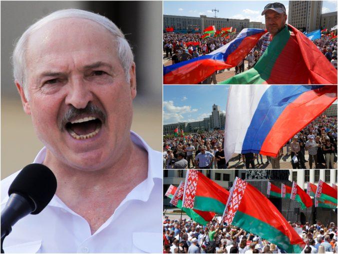 Toto bude začiatok vášho konca, opozícia bude vyliezať ako krysy, vyhlásil Lukašenko na demonštrácii (foto)