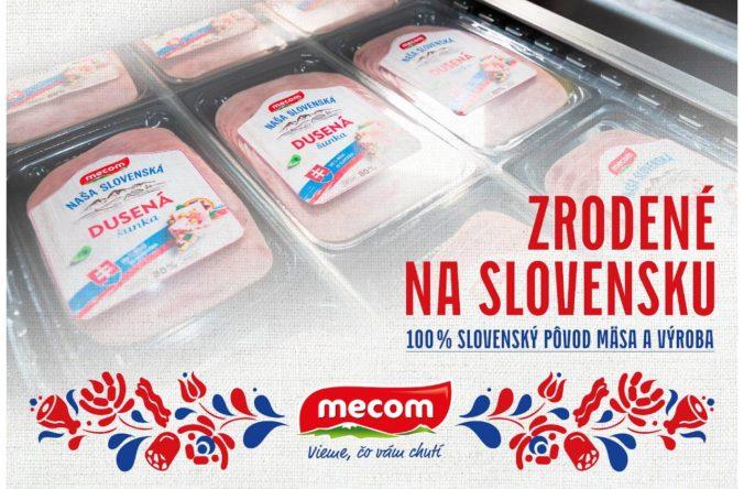 Mecom prichádza s novým radom výrobkov so stopercentným slovenským mäsom