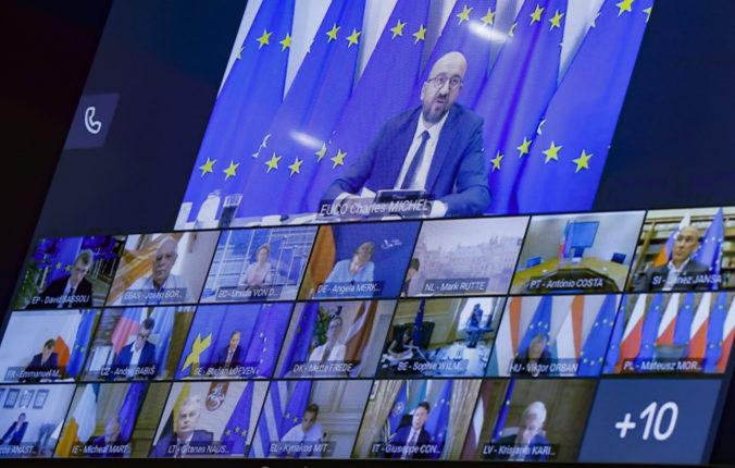 Lídri EÚ podporujú bieloruských prodemokratických demonštrantov, odmietajú výsledky volieb