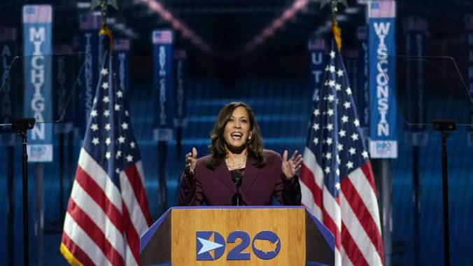 Vakcína proti rasizmu neexistuje, vyhlásila Kamala Harris a prijala kandidatúru za viceprezidentku USA