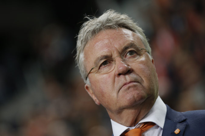 Známy holandský futbalový tréner Guus Hiddink povedie reprezentačný výber Curacaa