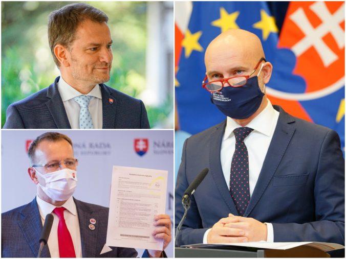 Kauza diplomovka má dohru. Matovič, Kollár a Gröhling čelia trestnému oznámeniu