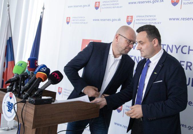 Štátne hmotné rezervy ušetrili milióny eur, Rudolf hovorí o zmluvách bývalého vedenia