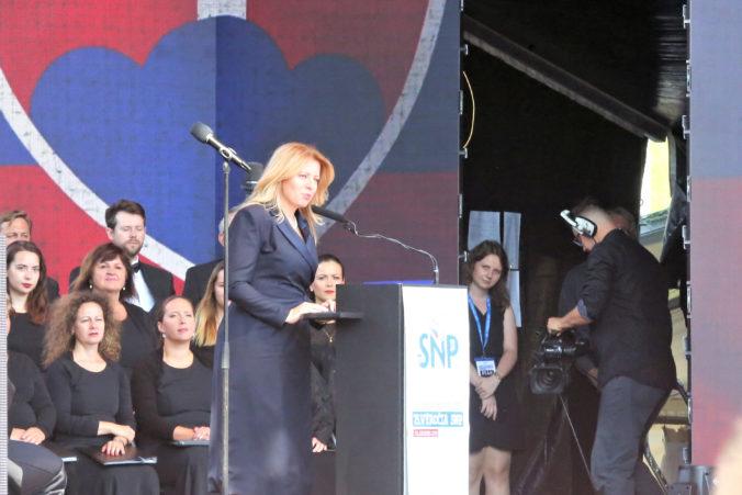 Boj proti nacistickej ideológii sa neskončil, pripomenuli na oslavách SNP Čaputová, Matovič aj Kollár (video)