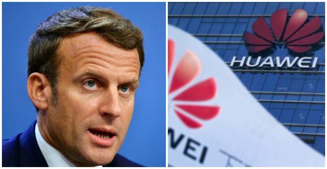 Francúzsko nevylúči Huawei z pripravovaných 5G sietí, no Macron dá skôr prednosť európskym firmám