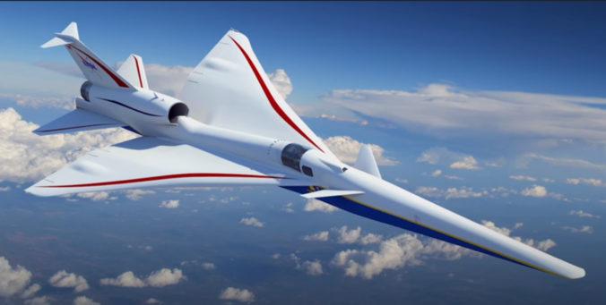 NASA predstavila nový motor do lietadla X-59, stroj vraj bude schopný prekročiť rýchlosť zvuku