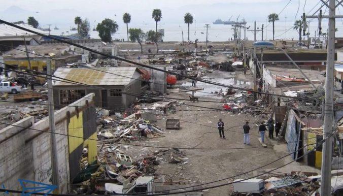 Pobrežie Čile zasiahlo silné zemetrasenie, bolo ho cítiť až v hlavnom meste