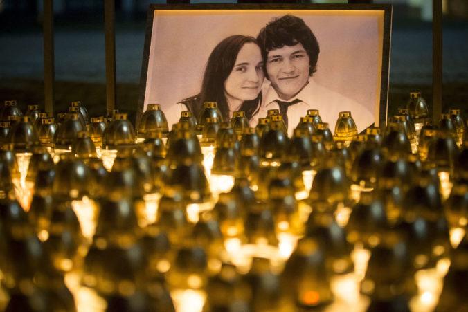 Desiatky ľudí si uctili pamiatku Kuciaka a Kušnírovej, prihovorila sa im aj mama zavraždenej