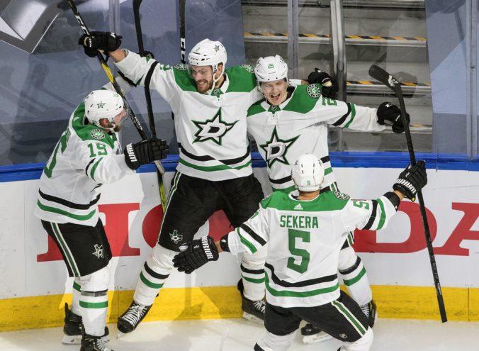 Dallas so Sekerom začal konferenčné finále víťazstvom, Chudobin má prvý shutout v play-off NHL (video)