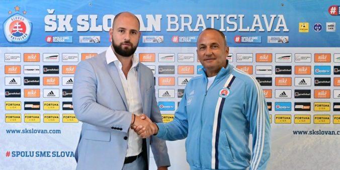 Slovan Bratislava povedie Milanič, na lavičke nahradí trénera Kozáka ml.