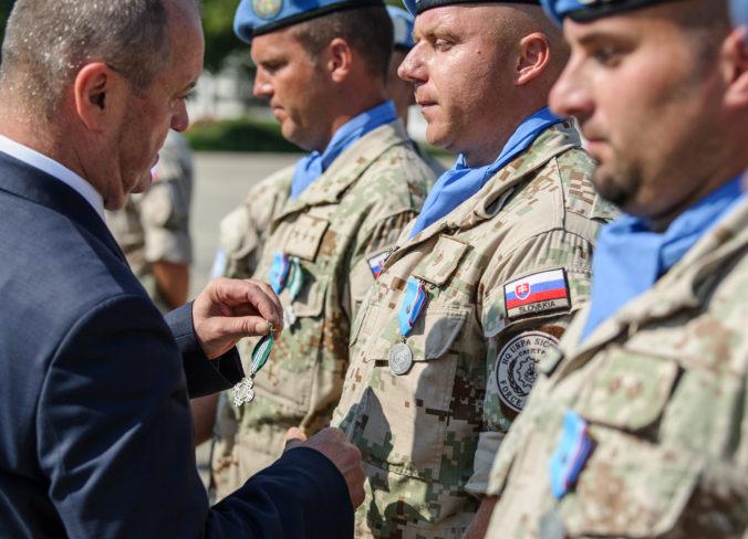 Slovensko má na Cypre vyše 200 vojakov, na ostrove pomáhajú udržiavať vojenskú rovnováhu