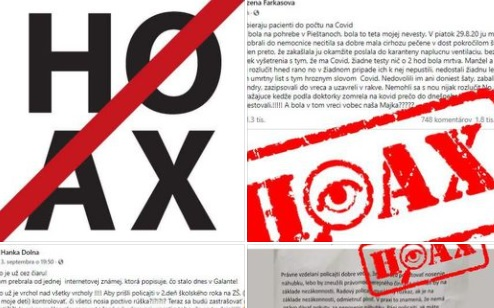 Polícia upozorňuje na tri hoaxy o víruse COVID-19, statusy zdieľali tisíce ľudí