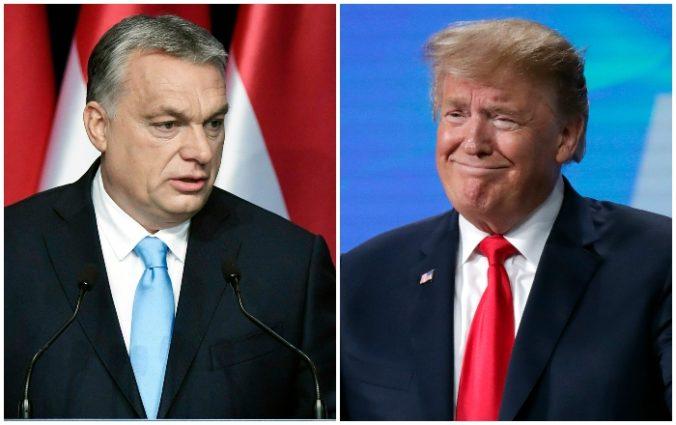 Premiér Orbán sa vyjadril k prezidentským voľbám v USA, Trumpovi drží palce