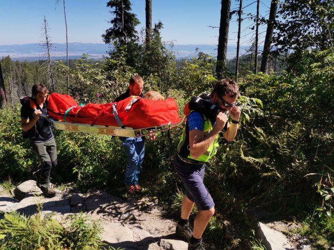 Horskí záchranári sa v lete nezastavili, počas augusta zaznamenali alarmujúci nárast úmrtí