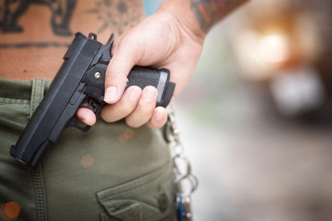 Policajti zhabali u muža 250 strelných zbraní a tisícky nábojov, spájajú ho s krajnou pravicou