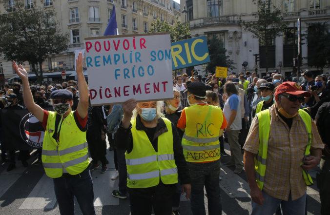 Žlté vesty sa vrátili do ulíc Paríža, protest bol označený za posledné povstanie mrtvého hnutia