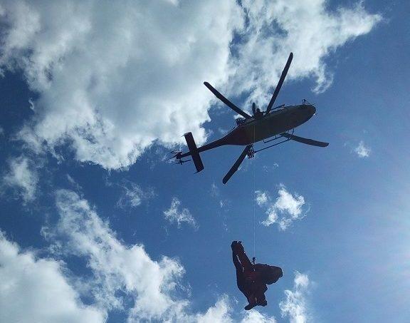 Pri zostupe z Gerlachu sa zranil horský vodca, letel po neho vrtuľník