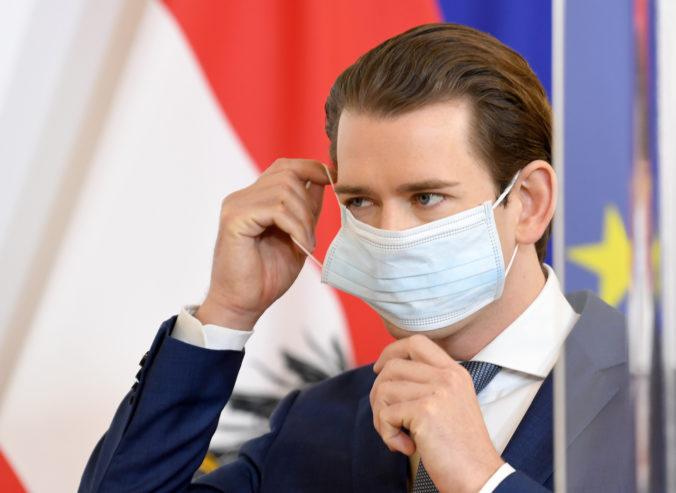 Rakúsko čelí druhej vlne nákazy, priznal kancelár Kurz a vyzval ľudí na dodržiavanie opatrení