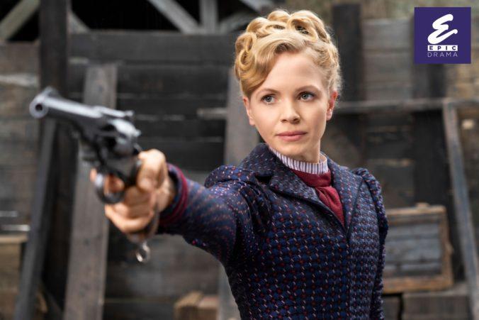Slečna Scarletová, detektív v sukni vyrieši každý prípad