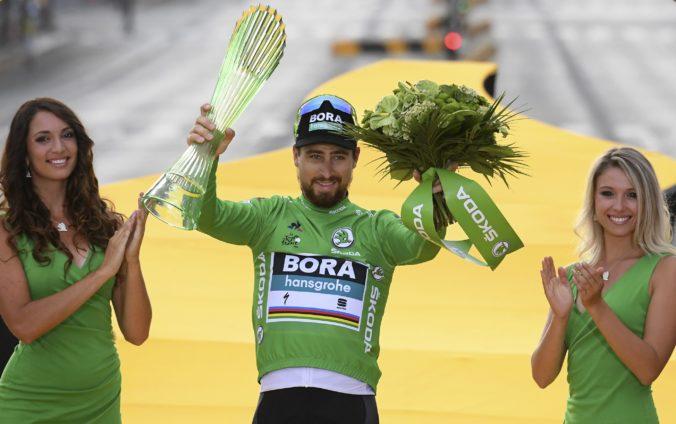 Trofeje pre víťazov cenných dresov na Tour de France navrhuje Slovák, sedem z nich vlastní Sagan
