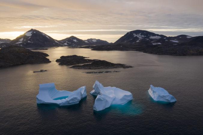 Z najväčšieho grónskeho ľadového šelfu sa odlomila obrovská časť, vedci bijú na poplach