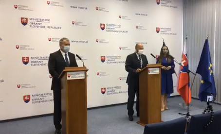 Minister Naď predstavil nového šéfa Vojenského spravodajstva, povedie ho Kleštinec