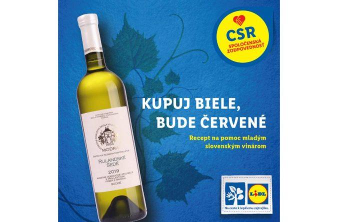 Lidl opäť podporí mladých slovenských vinárov