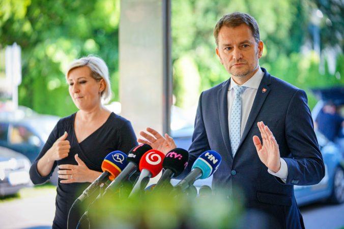 Premiér Matovič sa vyjadrí ku kauze Arca Capital, na ktorú podal Smer-SD trestné oznámenie